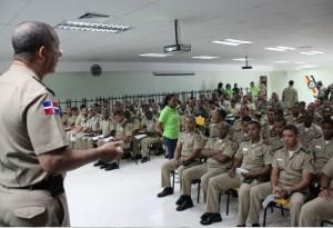 Llega charla de Coopinfa a Dirección General de Educación y Capacitación Militar en San Isidro