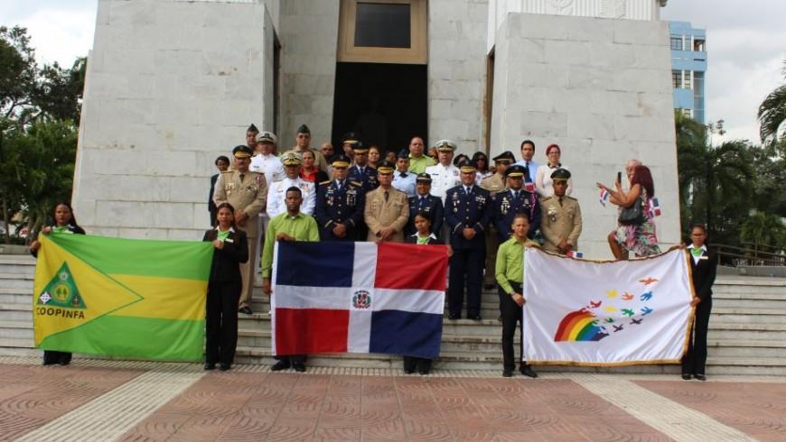 COOPINFA arriba a su tercer aniversario, honrando a la patria y llamando a fortalecer organismo que  beneficia soldados y sus familias