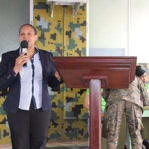 Directivos de COOPINFA, giraron una visita a la Brigada de Apoyo de Combate , en Villa Mella, 02