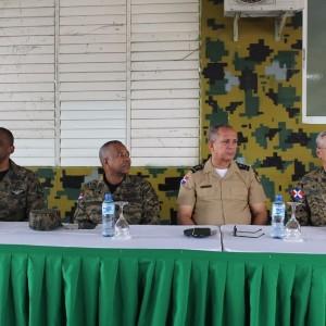 Directivos de COOPINFA, giraron una visita a la Brigada de Apoyo de Combate , en Villa Mella, 03
