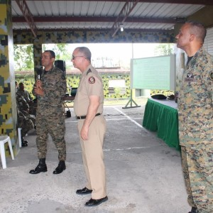 Directivos de COOPINFA, giraron una visita a la Brigada de Apoyo de Combate , en Villa Mella, 04