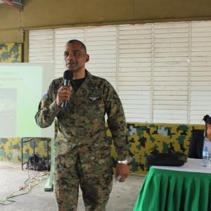 Directivos de COOPINFA, giraron una visita a la Brigada de Apoyo de Combate , en Villa Mella, 05