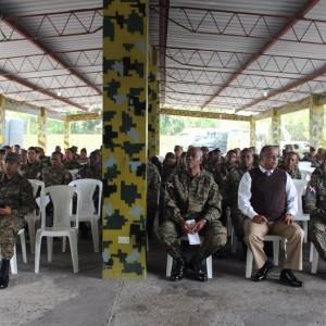 Directivos de COOPINFA, giraron una visita a la Brigada de Apoyo de Combate , en Villa Mella, 06