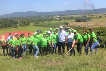 COOPINFA realiza operativo de reforestación en la provincia Monseñor Nouel
